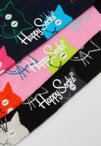 Happy Socks - MIXED CAT GIFT SET 3 PACK - Socken - multi - 3