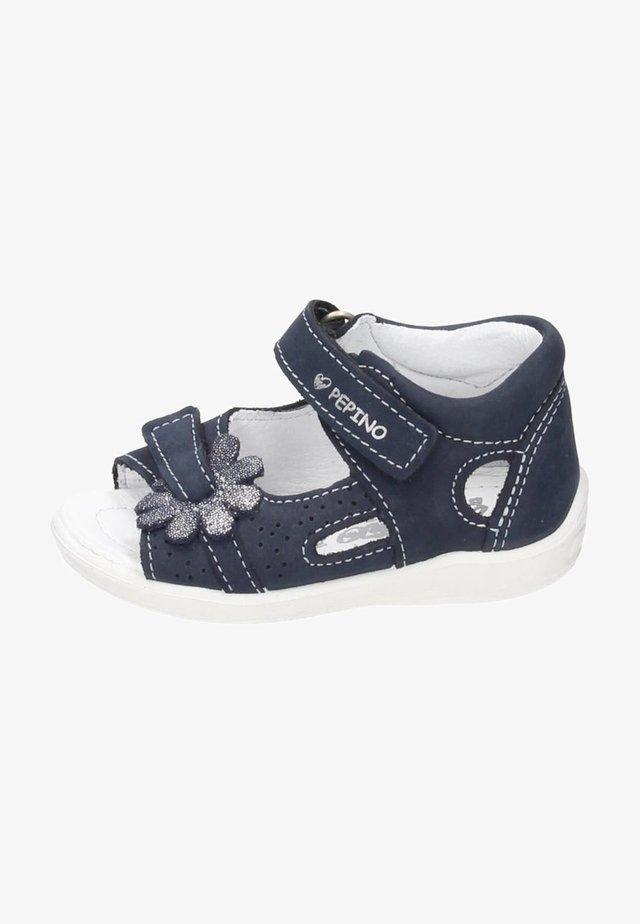 MINILETTE - Chaussures premiers pas - blue