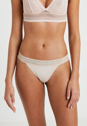 CLASSIC COTTON - Thong - nude