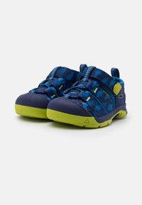 Keen - NEWPORT H2 UNISEX - Tursandaler - blue depths/chartreuse - 1
