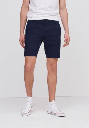 2 PACK - Shorts - mottled light blue