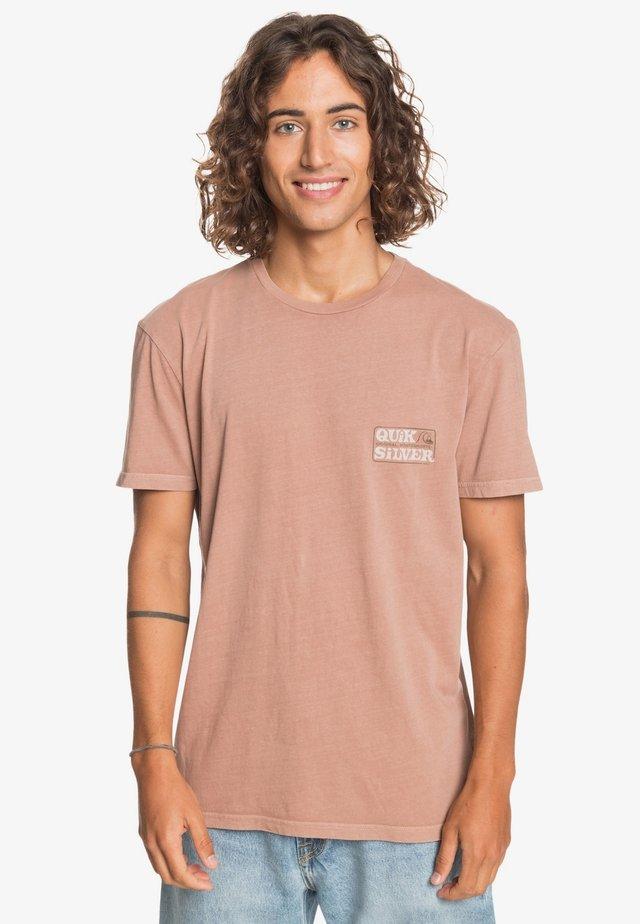 Print T-shirt - tortoise