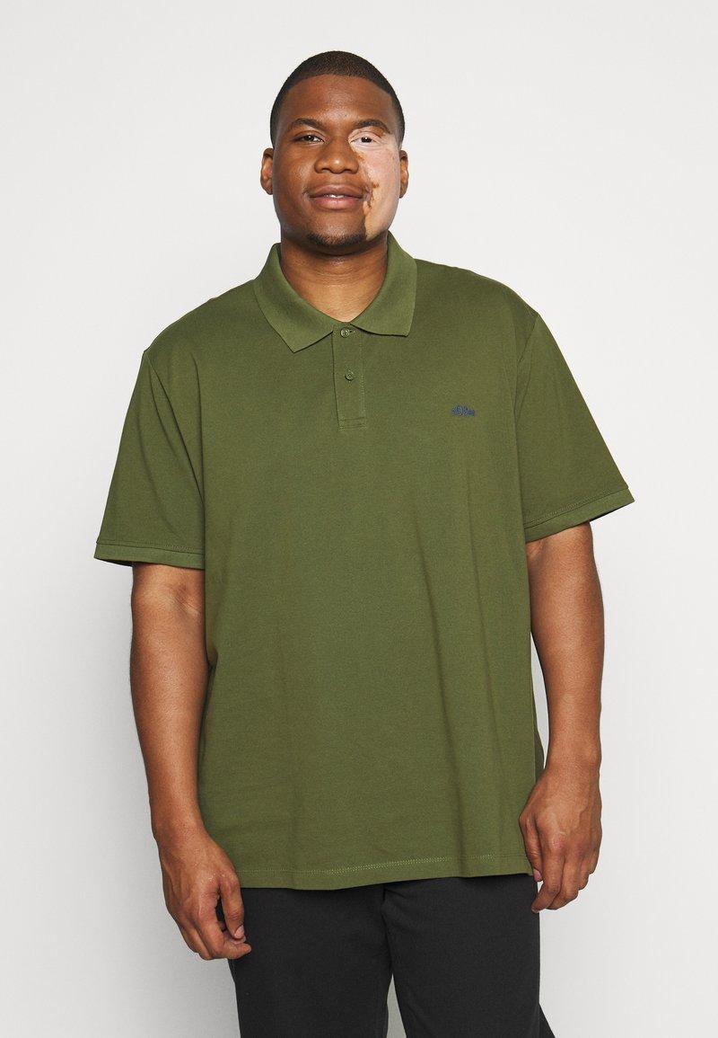 s.Oliver - KURZARM - Poloshirts - khaki