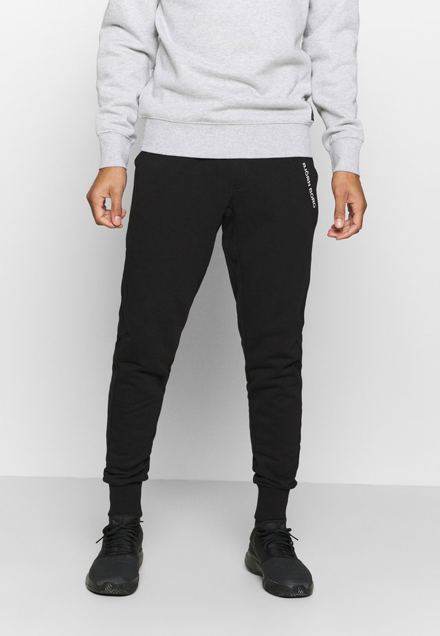 SPORT PANTS - Tracksuit bottoms - black beauty