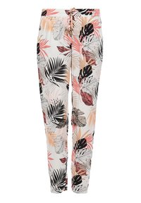 s.Oliver - Trousers - off-white aop - 6
