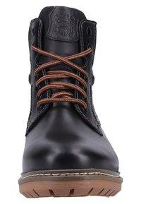 Fretz Men - Lace-up ankle boots - black - 5