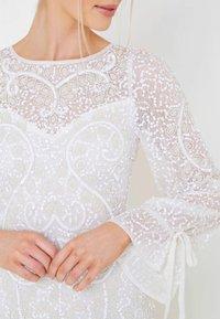 BEAUUT - Vestido de fiesta - white - 2
