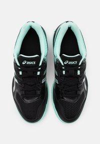 ASICS - GEL ROCKET 9 - Volleyball shoes - black/fresh ice - 3