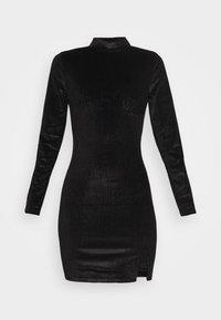 Glamorous - LONG SLEEVE DRESS - Shift dress - black - 4