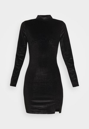 LONG SLEEVE DRESS - Etuikjole - black