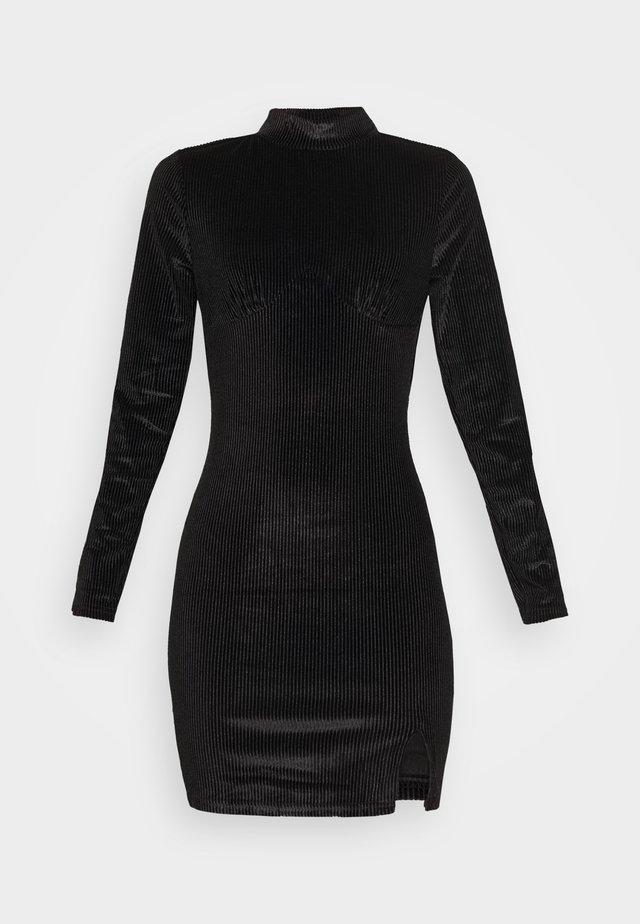 LONG SLEEVE DRESS - Robe fourreau - black