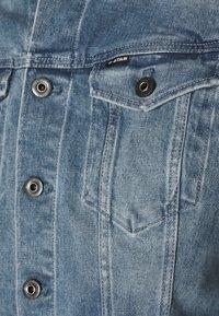 G-Star - 3301 SLIM - Giacca di jeans - sun faded stone - 5