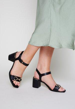 ALINIFLEX - Sandals - black