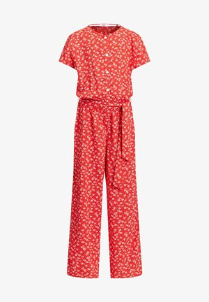 MET STIPPENDESSIN - Overal - bright red