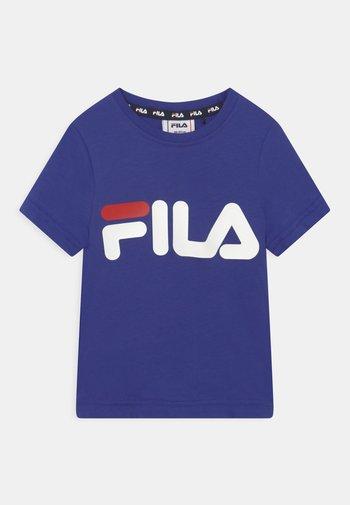 LEA LOGO TEE UNISEX - Print T-shirt - royal blue