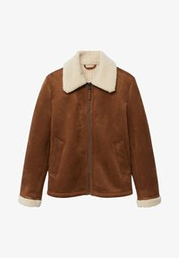 Mango - ORSON - Light jacket - kognac - 6