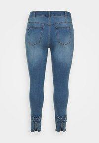 Zizzi - JABIA CROPPED - Jeans Skinny Fit - blue denim - 5