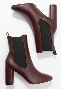 Head over Heels by Dune - OTTY - Bottines à talons hauts - burgundy - 3