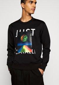 Just Cavalli - FELPA - Sweatshirt - black - 3