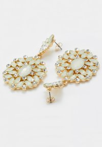 Pieces - PCYELLOW EARRINGS - Earrings - gold-coloured - 2