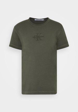 ACID WASH TEE - Basic T-shirt - deep depths