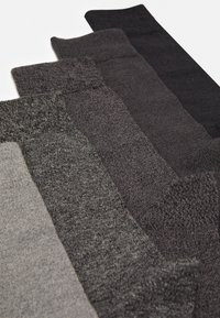Pier One - 5 PACK - Ponožky - dark grey - 1