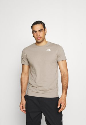 FOUNDATION GRAPHIC TEE - T-shirt med print - mineral grey