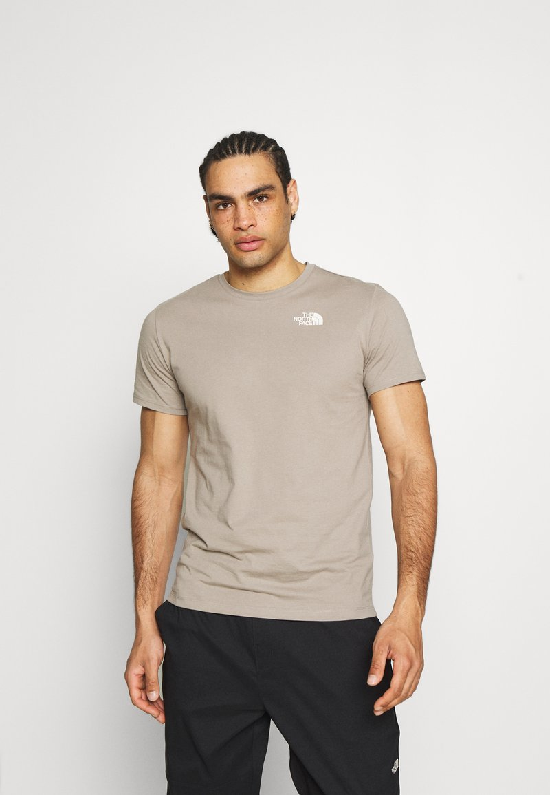 The North Face - FOUNDATION GRAPHIC TEE - T-shirt print - mineral grey