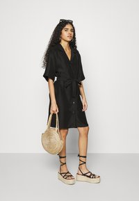 ARKET - Shirt dress - black - 1