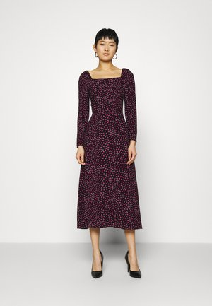 CLOSET MILKMAID MIDI A-LINEDRESS - Day dress - black