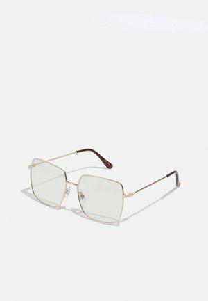 UNISEX - Blue light glasses - gold-coloured