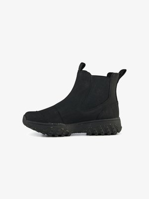 MAGDA TRACK BOOT - Classic ankle boots - black