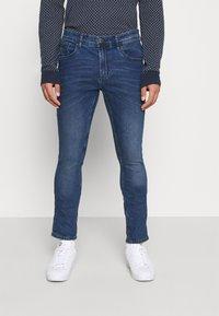 Blend - JET FIT - Jeans slim fit - denim middle blue - 0