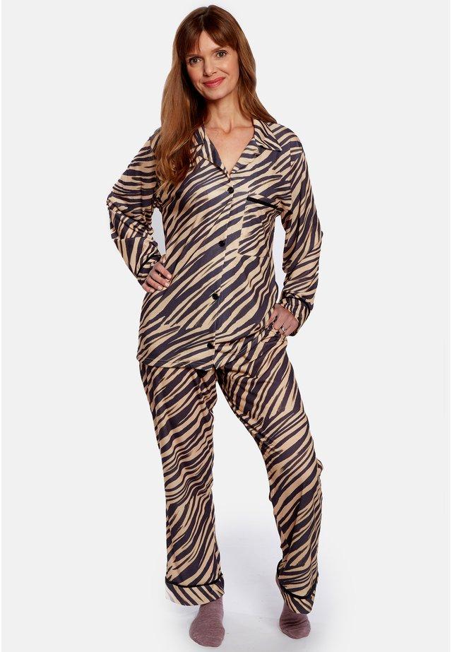 Pyžamová sada - beige