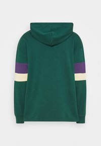 Levi's® - BLOCKED OPEN HEM HOODIE UNISEX - Sweatshirt - greens - 5