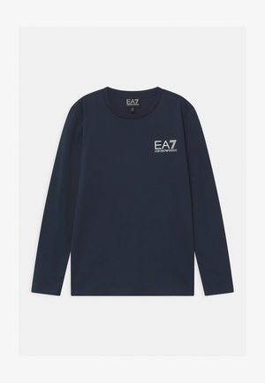 EA7 - Long sleeved top - navy blue
