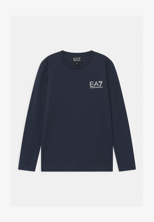 EA7 - Topper langermet - navy blue
