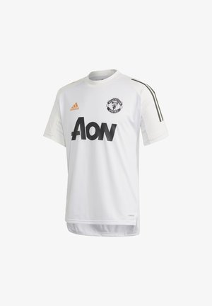MANCHESTER UNITED AEROREADY FOOTBALL JERSEY - Klubbkläder - white