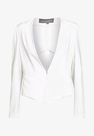 COLLARLESS - Żakiet - whisper white