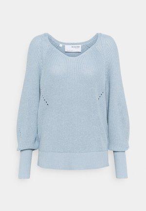 SLFEMMY VNECK  - Jumper - cashmere blue