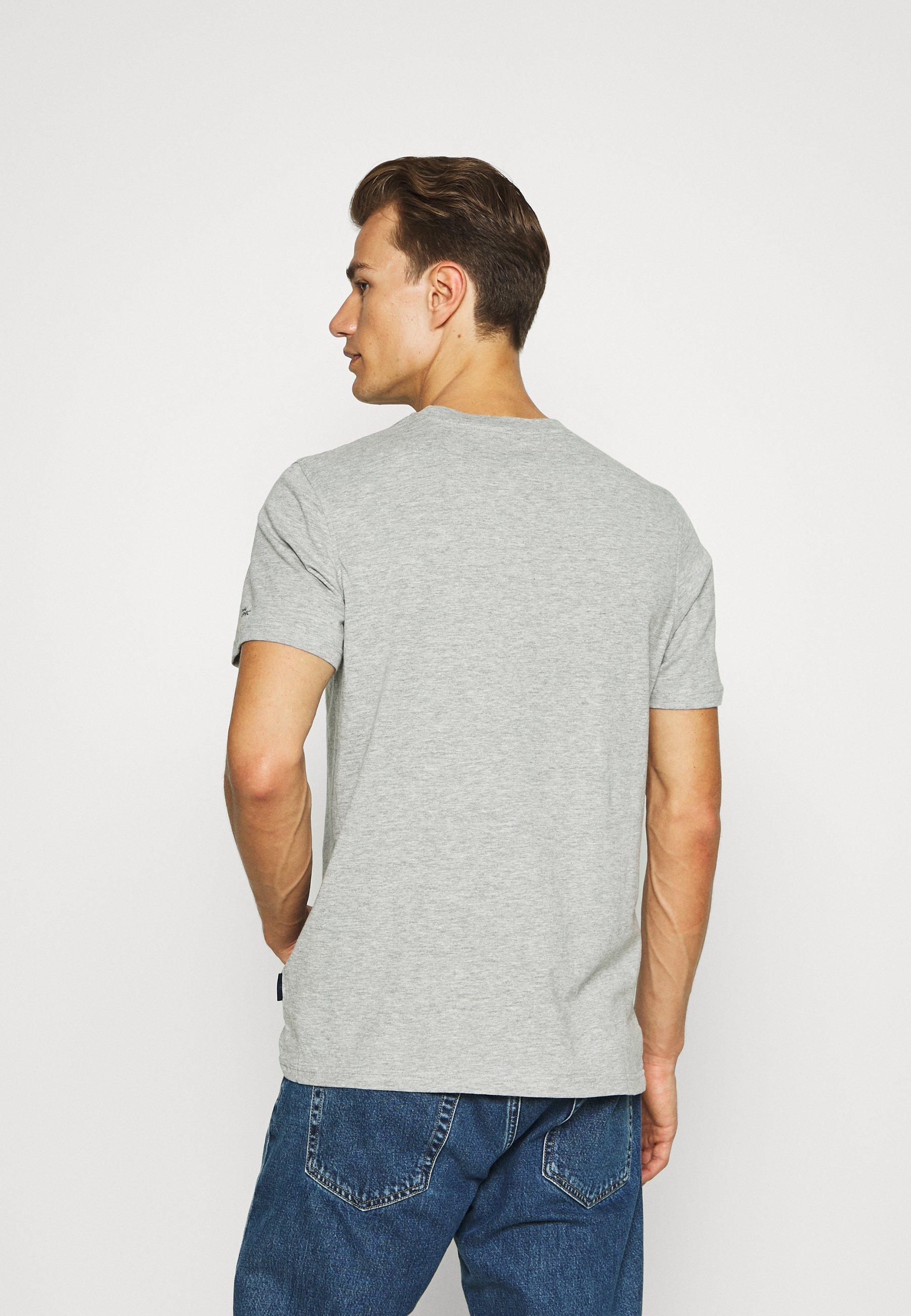 Springfield TIBURON BALLENA - Print T-shirt - dark grey f7TFP