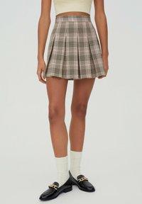 PULL&BEAR - A-snit nederdel/ A-formede nederdele - rose - 3
