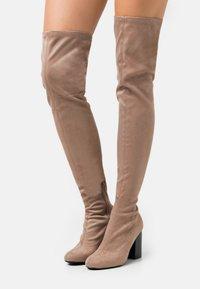 Even&Odd - High heeled boots - beige - 0