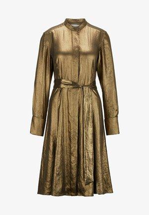 DEMRA - Shirt dress - dark yellow