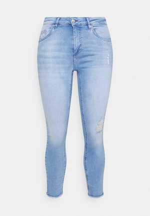 CARWILLY LIFE  - Jeans Skinny Fit - light blue denim
