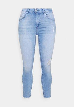 CARWILLY LIFE  - Jeansy Skinny Fit - light blue denim