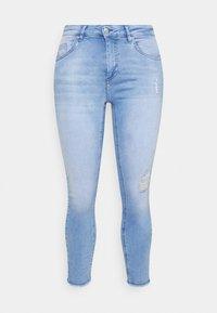 ONLY Carmakoma - CARWILLY LIFE  - Jeans Skinny Fit - light blue denim - 3