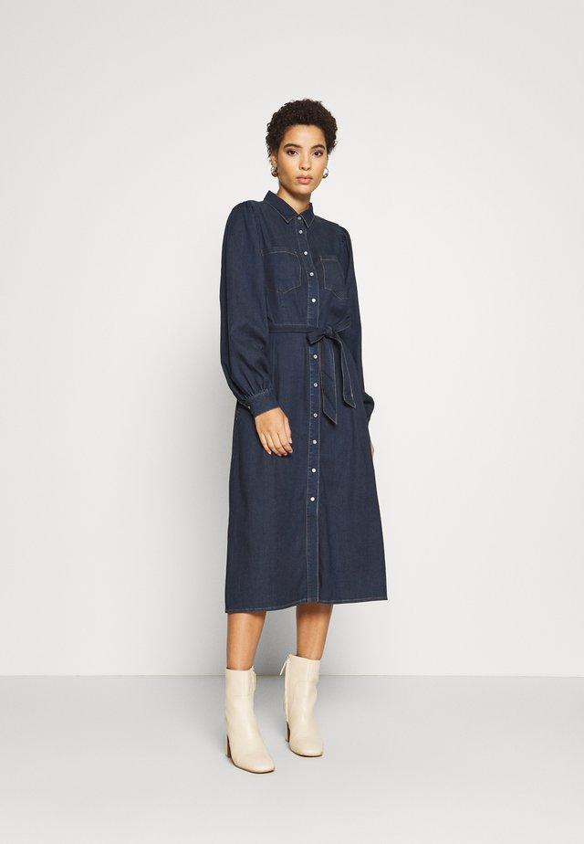 MALOU - Denim dress - dark blue