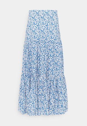 GEORGINA LEAF - Maxi skirt - aquarelle