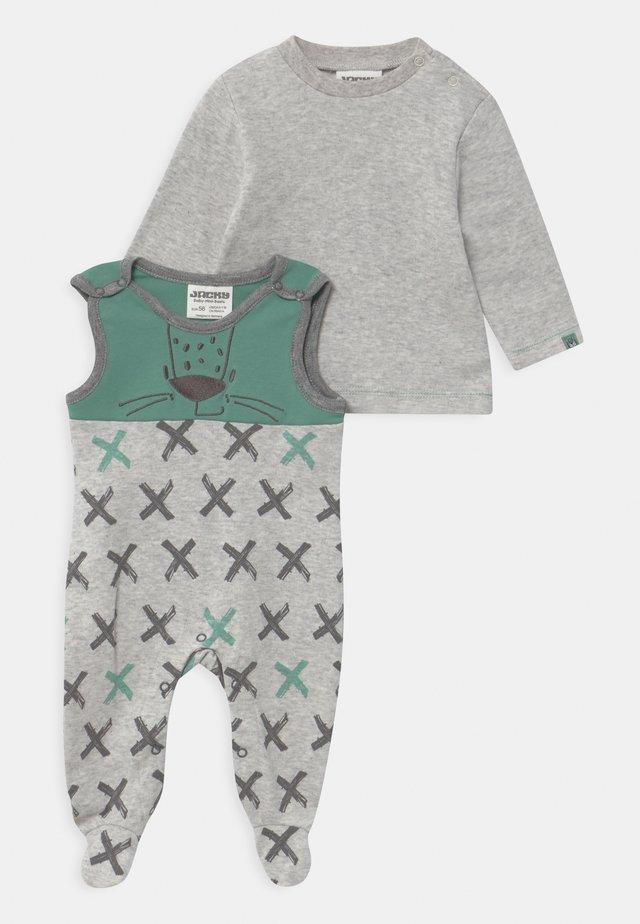 LEOPARDY - Pyjama set - hellgrau
